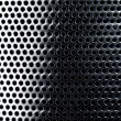 Metal grid background — Stockfoto