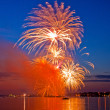 Glowing firework — Stock Photo #36181937