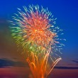 Magic firework — Stock Photo
