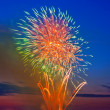 Stock Photo: Magic firework