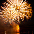 Yellow firework — Foto de stock #36182057