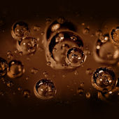 Air bubbles — Stock Photo