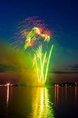 Festive firework — Stock Photo