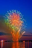 Magic firework — Stockfoto