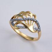 Golden jewelry — Stock Photo