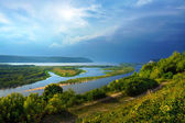 River Volga in Samara — Stock Photo