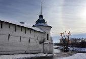 Christianity church in Yaroslavl city — Stock Photo