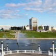 Russia. Capital of Chuvashiya the city of Cheboksary — Foto de Stock