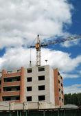 Byggandet i staden — Stockfoto