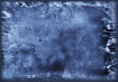 Old grunge dark blue texture for your design — Stock Photo