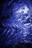 Frosty winter pattern — Stock Photo