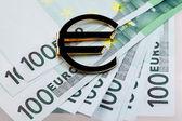 Money euro — Stock Photo
