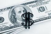 美国美元 — 图库照片