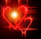 Valentine gretting card — Stock Photo