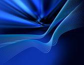 Blue waves — Zdjęcie stockowe
