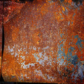Old rusty sheet metal, texture — Stock Photo
