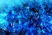 Texture of nature - blue gem — Fotografia Stock