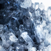 Texture of nature - blue gem — Stock Photo