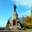 Russia, Kostroma city, landmark Lenin — Stock Photo