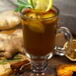 Christmas drink Mulled wine — Stock Photo