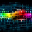 Vibrant colorful abstract background — Stock Photo