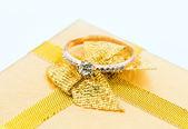 Elegant jewelry with brilliants — Photo