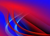 Abstract dark red and blue background for card — Stock Photo