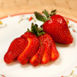 Stock Photo: Tasty strawberry