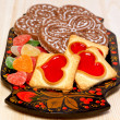 Tasty  cookies and Gingerbreads — Stock Photo #37059799