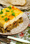 Greek national cuisine — Stock Photo
