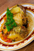 Greek traditional cuisine — Stock Photo