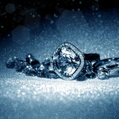 Elegant jewelry — Stock Photo