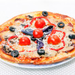 Food - tasty  italian pizza — Stock Photo