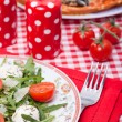Food - tasty italian dinner — Stock Photo