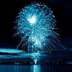 Celebratory firework — Stock Photo