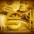 The money euro — Stock Photo