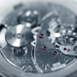 Stock Photo: Mechanical old watch
