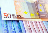 De euro geld — Stockfoto