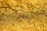 Texture gold foil — Stock Photo