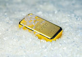 Gold bullion — Stock Photo