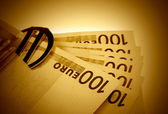 The money euro — Stock Photo