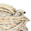 Rope in a yacht — Stock Photo