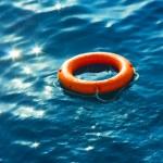 Ring-buoy in Sea — Stock Photo #37439215
