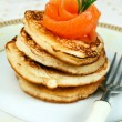 Stock Photo: Russian traditional pancakes