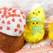 Stock Photo: Celebratory Easter bread