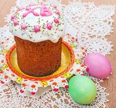 Celebratory Easter bread — 图库照片