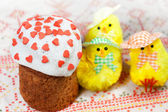 Celebratory Easter bread — Stock Photo