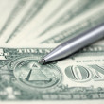 The American money dollars — Stock Photo #37512773
