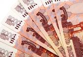 Russiann big money — Stock Photo