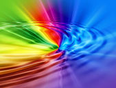 Rainbow abstract background — Stock Photo